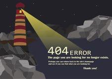 Изображение страницы & x27; Не нашл ошибка 404 Стоковое Фото
