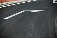 изображение стрелки 3d представило знак Стоковая Фотография