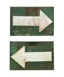 изображение стрелки 3d представило знак Стоковая Фотография RF