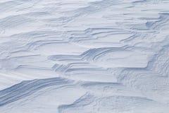 Изображение с снежной текстурой Стоковая Фотография RF