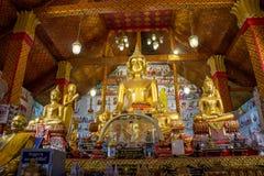 Изображение Таиланд Uthai Thani Wat спетое Tha Будды Стоковые Изображения