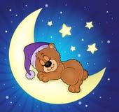 Изображение 5 темы медведя спать иллюстрация вектора