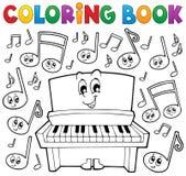Изображение 1 темы музыки книжка-раскраски бесплатная иллюстрация