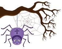 Изображение 3 темы паука Стоковые Изображения RF