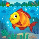 Изображение 4 темы пресноводной рыбы Стоковое фото RF