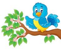 Изображение темы птицы   Стоковые Изображения