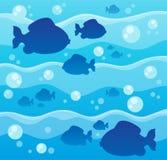 Изображение 8 темы рыб Стоковые Фотографии RF
