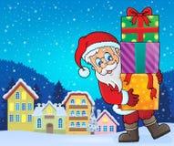 Изображение 9 темы Санта Клауса Стоковое фото RF