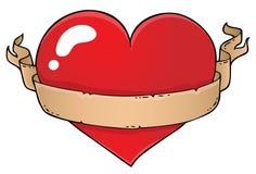 Изображение 6 темы сердца валентинки Стоковое Изображение
