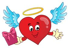 Изображение 8 темы сердца валентинки Стоковые Изображения