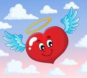 Изображение 5 темы сердца валентинки Стоковое Фото