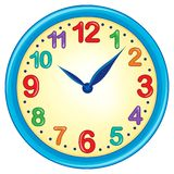 Изображение 3 темы часов Стоковое Изображение