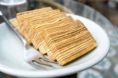 Изображение торта слоя Lapis горизонтальное Стоковые Изображения