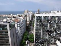 Изображение улицы Рио-де-Жанейро стоковое изображение rf