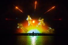Изображение фонтана Roshen Стоковые Изображения