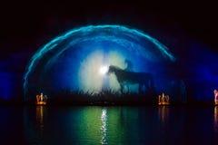 Изображение фонтана Roshen Стоковая Фотография RF