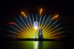 Изображение фонтана Roshen Стоковые Фотографии RF