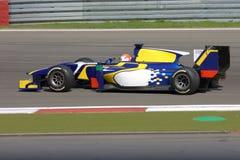 Изображение формулы 1: Фото запаса гонки F1 автомобильное Стоковые Изображения