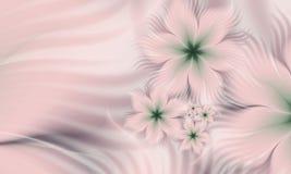 Изображение фрактали цветка цвета Стоковые Изображения RF