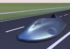 Изображение 7 ховеркрафта автомобиля Стоковая Фотография