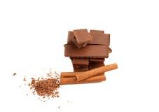 Изображение циннамона и шоколада Стоковая Фотография