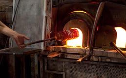 Печь стекла Murano Стоковые Изображения
