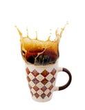 Изображение чашки горячего кофе Стоковое фото RF