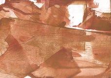 Изображение чертежа мытья коричневого цвета Перу Стоковая Фотография