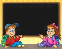 Изображение 5 школы тематическое Стоковая Фотография RF