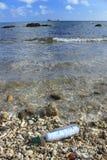 Бутылка с сообщением Стоковая Фотография