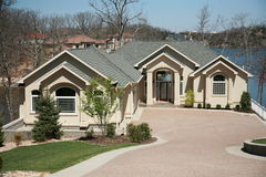 изображение 3 домов Стоковые Изображения