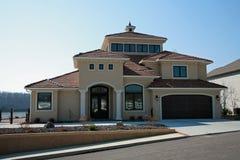изображение 5 домов Стоковое Фото