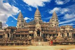 Изображение Angkor Wat Стоковые Изображения RF