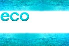 изображение eco Стоковое фото RF