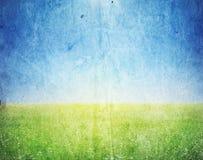 Изображение Grunge ландшафта Стоковая Фотография RF