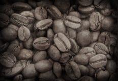 изображение grunge кофе фасолей Стоковое Изображение RF