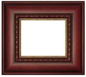 изображение mahogany рамки Стоковое Изображение RF