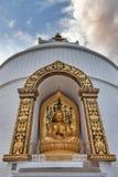 Изображение ` s Будды в mudra dharmachakra стоковая фотография rf