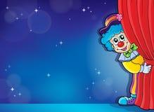 Изображение 4 thematics клоуна Стоковые Изображения RF