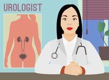 Изображение urologist вектора Стоковое Фото