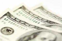 100 изображений запаса счетов доллара Стоковые Изображения RF