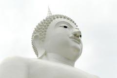 Изображения белого Будды в Таиланде Стоковое Изображение