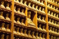 Изображения Будды в виске Bongeunsa Стоковое фото RF