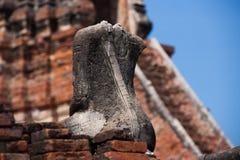 Изображения Будды в Ayutthaya Таиланде Стоковое Фото