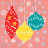 Изображения для календаря пришествия в зеленых и розовых цветах бесплатная иллюстрация