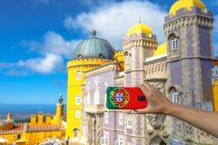Изображения замка Pena Стоковое Изображение