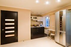 Изображения запаса архитектуры дизайна интерьера кухни Стоковое фото RF