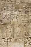 Изображения и hieroglyphics стародедовского Египета Стоковые Изображения RF