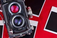 изображения камеры пустые старые Стоковая Фотография