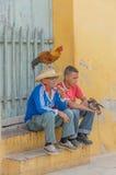 Изображения Кубы - кубинських людей стоковые фотографии rf